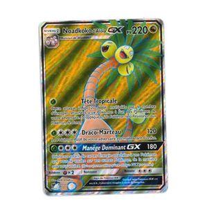 CARTE A COLLECTIONNER Carte Pokémon Noadkoko d'Alola GX Full Art - 220 P