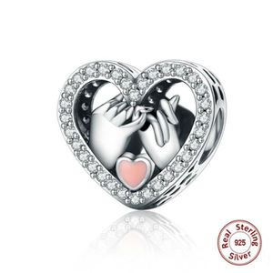 MAILLON DE BRACELET  MERRILL® Charms Argent 925 Essence Diamants Rose