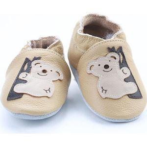 CHAUSSON - PANTOUFLE Chaussures Bébé en Cuir Souple - Chaussons Bébé -