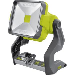 LAMPE DE CHANTIER RYOBI Projecteur LED Hybrid (18V & secteur)