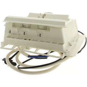 RADIATEUR ÉLECTRIQUE Boitier thermostat 2 molettes + curseur pour Radia