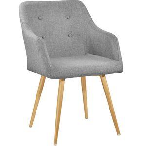 CHAISE DE BUREAU TECTAKE Chaise de salle à Manger et salon Design S