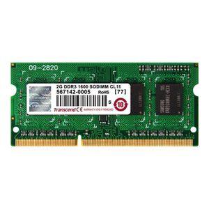MÉMOIRE RAM Transcend - Mémoire - 2 Go - SO DIMM 204 broches …