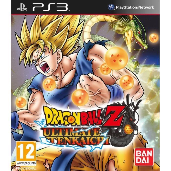 JEU PS3 DRAGON BALL Z ULTIMATE TENKAICHI / Jeu console PS3