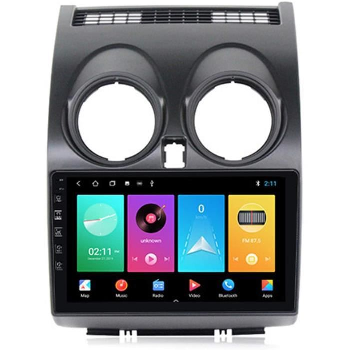 ADMLZQQ Autoradio An oid10 2 DIN pour Nissan Qashqai 2006-2013 GPS nav Support GPS Bluetooth Mains Libres Carplay(M300-PX6) Comm500