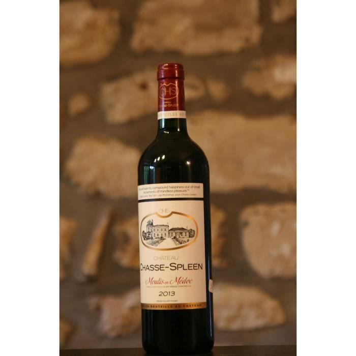 Vin rouge, Château Chasse Spleen 2013 Rouge