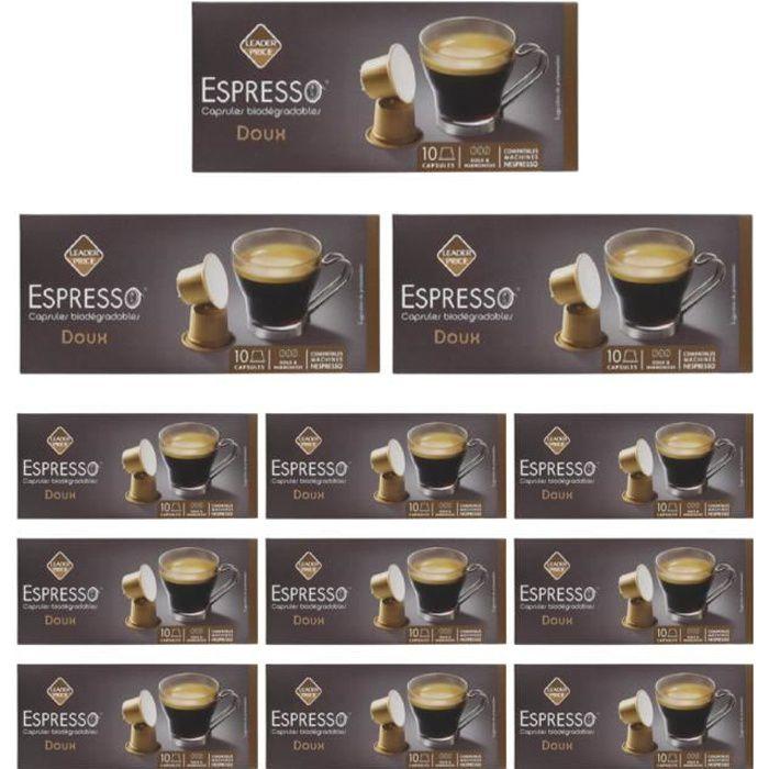 [Lot de 12 ] Café espresso doux - 50g par boite