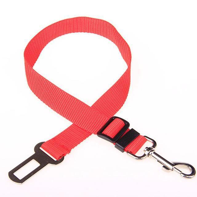 Ceinture de sécurité pour chien, ceinture de sécurité réglable, pince pour chien de voyage, pour toutes les voitures