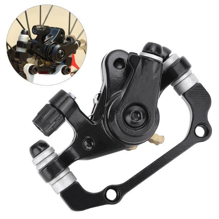 Tbest Étrier de frein Vélo électrique universel étriers de frein à disque mécanique vélo de vélo (arrière (F180 R160))