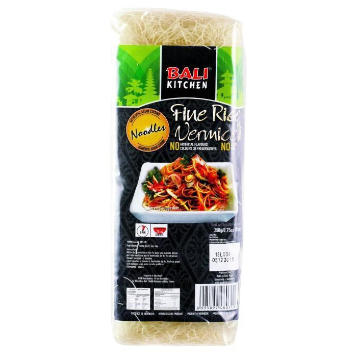 BALI KITCHEN Vermicelles de Riz Fins - 250 g