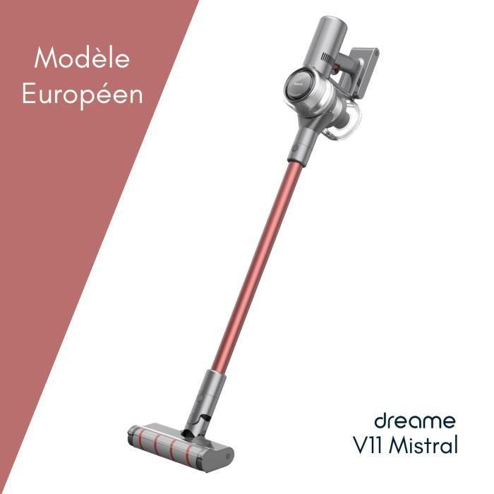 Dreame® V11 Mistral - Aspirateur sans fil - modèle européen - 125000 tr / min - 90mn
