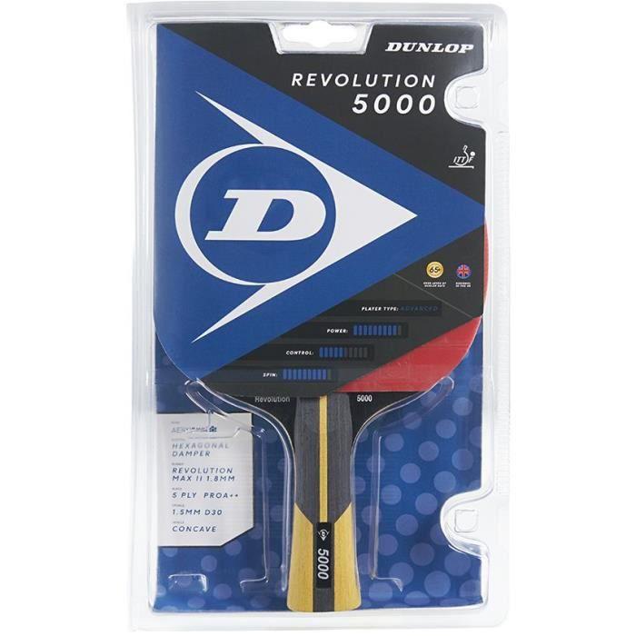 Raquette de tennis de table - DUNLOP - REVOLUTION 5000