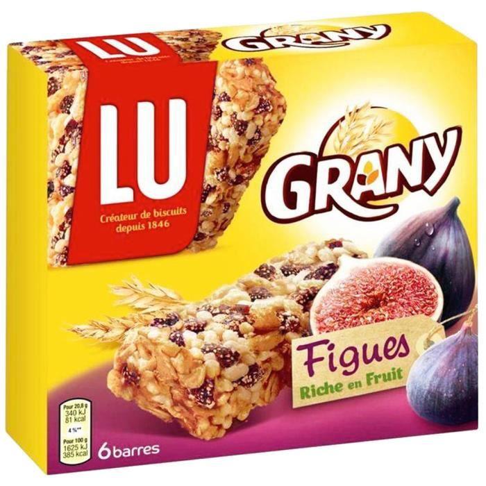 Lu Grany 4 Céréales et Figues (lot de 10 x 3 paquets)