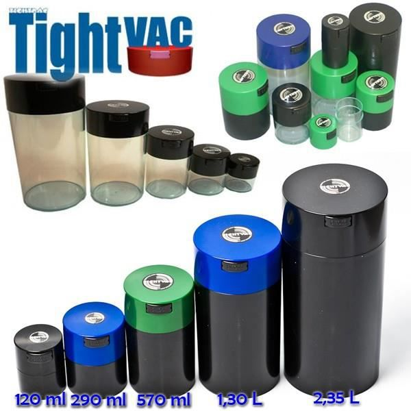 TIGHT VAC - 1,3 Litre - Boîte Hermétique de Consevation pour Herbes Aromatiques