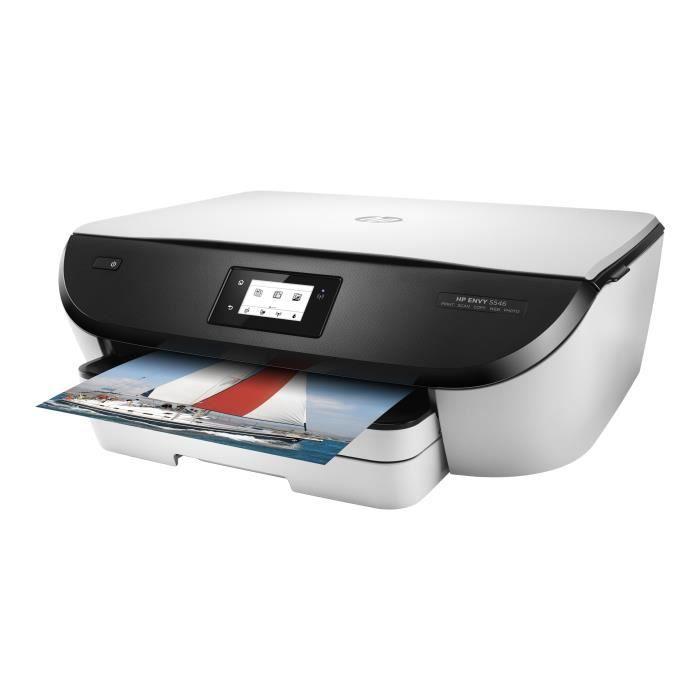 HP Envy 5546 All-in-One Imprimante multifonctions couleur jet d'encre 216 x 297 mm (original) A4-Legal (support) jusqu'à 10 ppm…