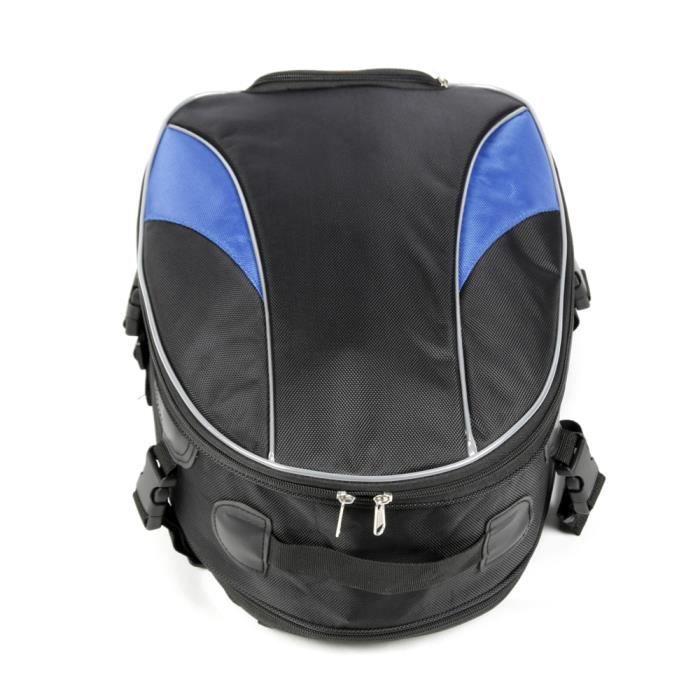 Sac de moto de grande capacité étanche sac de queue sac à dos arrière siège arrière sac à dos