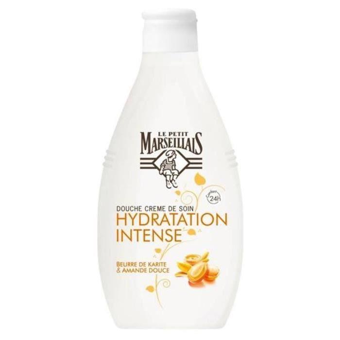 """Le Petit Marseillais Douche """"Hydratation Intense"""" Beurre De Karité & Amande Douce 250ml (lot de 4)"""