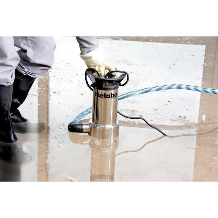 Metabo PS 18000 SN POMPE IMMERGE POUR EAUX USES 1100 W, 18.000 L/h 1,1 Bar 0251800000