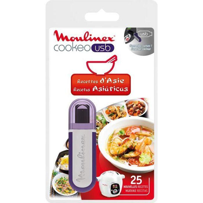 MOULINEX Accessoires XA600311 Clé USB thème Asie pour Cookeo