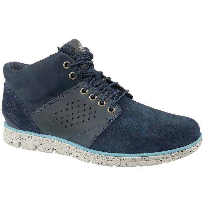 Timberland Bradstreet Half A13GR Homme Chaussures de randonnée Bleu foncé