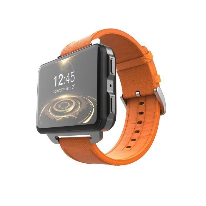 LEMFO lem4pro Android montre intelligente téléphone 1GB 16GB 1200 Mah batterie 130W caméra GPS WiFi carte SIM MP4 3G Smartwatch