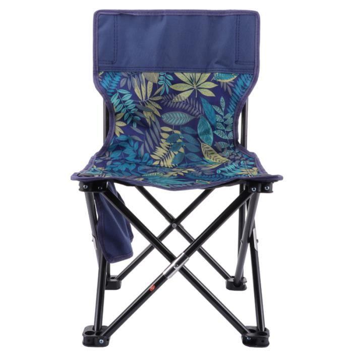 1PC tabouret pliable Oxford chaise longue en tissu de plage pliante pour la randonnée croquis Camping en plein air