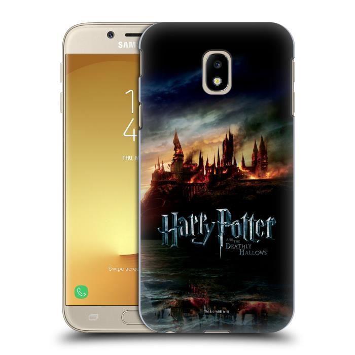 Officiel Harry Potter Plume Quill Sorcerer's Stone II Coque en Gel molle pour Samsung Galaxy J5 (2017)