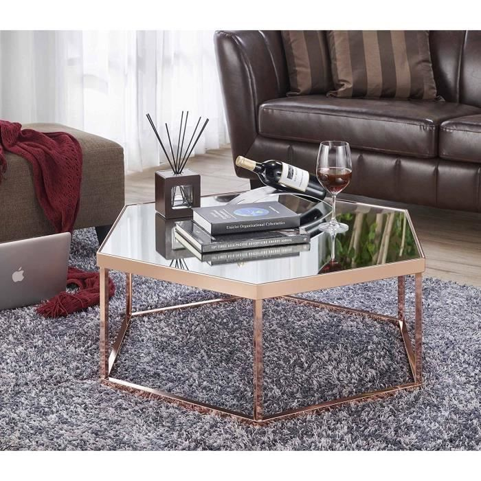 Miroir Table Basse Salon Petite Table Basse