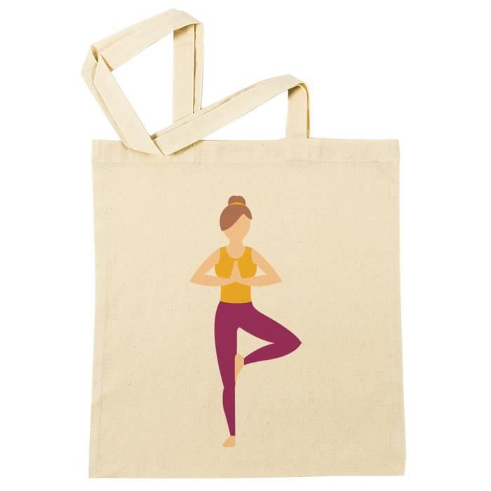 Bag Beach Shopping Reusable Yoga Réutilisable Plage À B Provisions Sac 41321 Coton Fille 8vqzxS