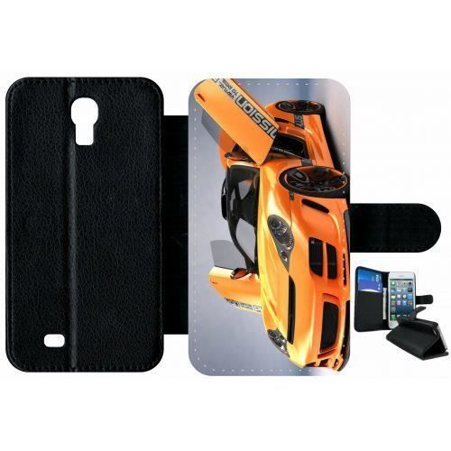 Etui samsung galaxy s4 porsche 911 996 orange portes for Housse porsche 996