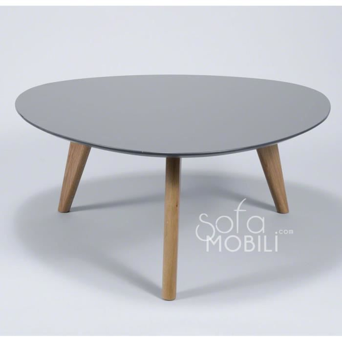 Table basse blanc ou gris style scandinave maja 2 gris for Table basse scandinave laquee