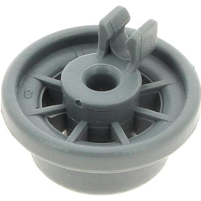 2x Lave-Vaisselle Inférieur Panier Support Roulement Kit Clips Pour Bosch Neff Lave-vaisselle