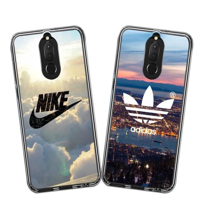 2 X Coque Huawei Mate 10 Lite, Nike et Adidas Doux