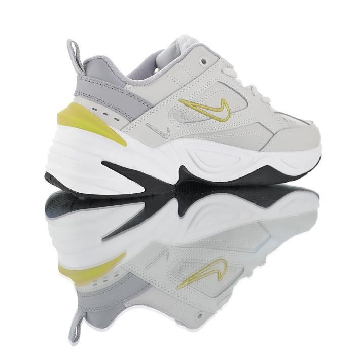 "Nike M2K Tekno Platinum""Tint Celery""Jaune/Grisâtre Baskets ..."