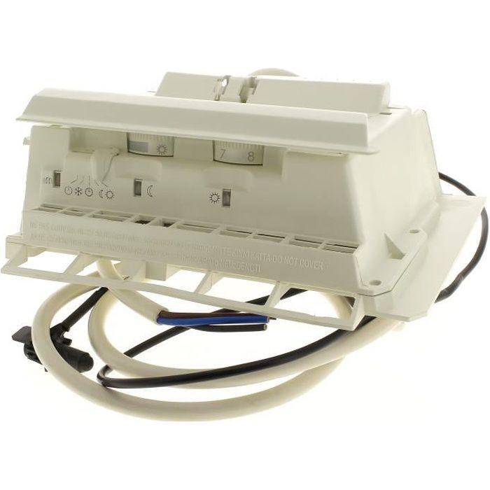 Boitier Thermostat 2 Molettes Curseur Pour Radiateur Thermor Radiateur Sauter Radiateur Atlantic 3665392061311 Achat Vente Radiateur Electrique Boitier Thermostat 2 Molettes Cdiscount