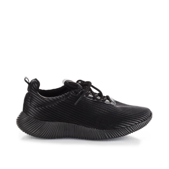 Creepers mode Flatform Lace Up Plate-forme Baskets basses JG48B Taille-39 9vRRF9SHEt