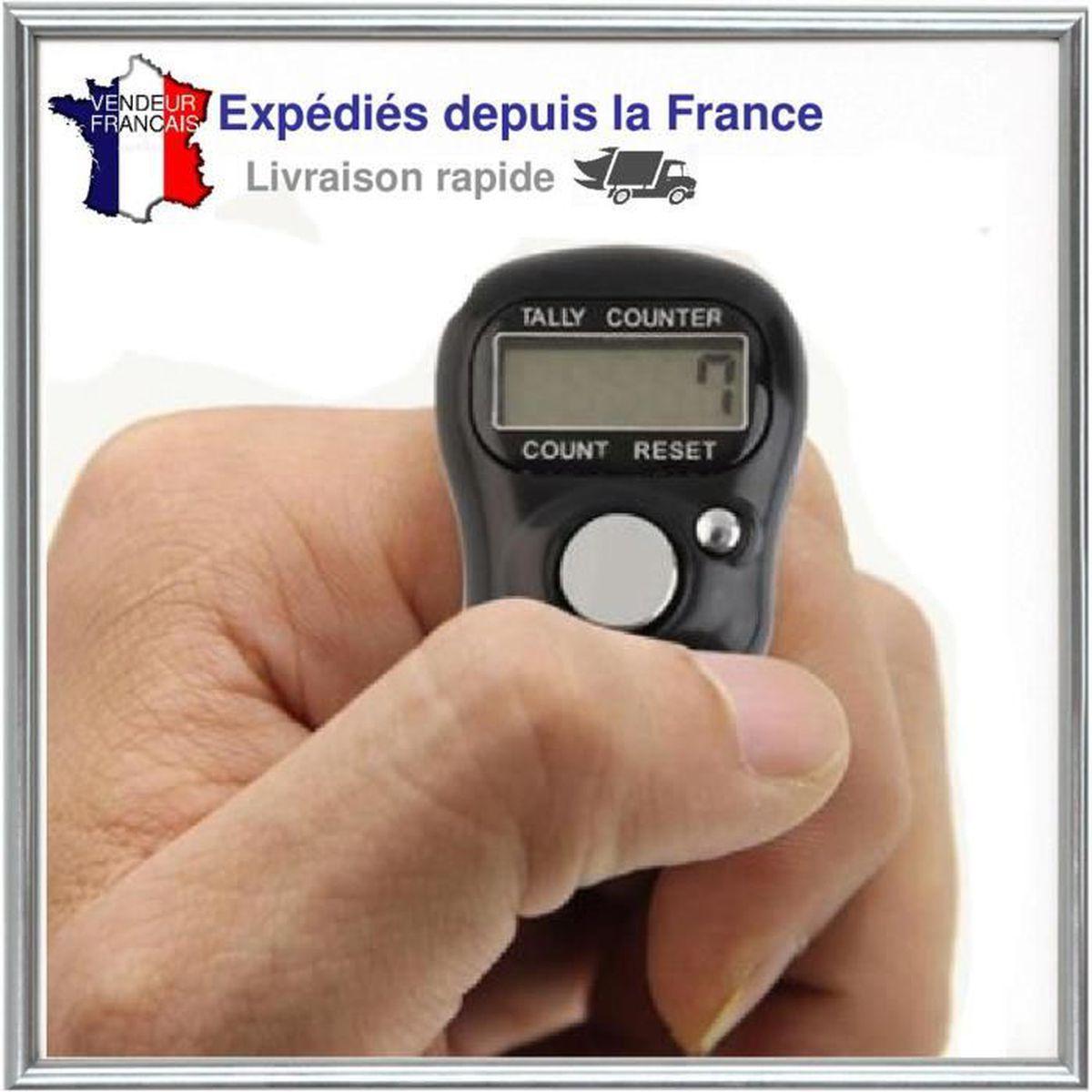 Sourcingmap/® main m/écanique Compteur de pi/èces avec 5/chiffres