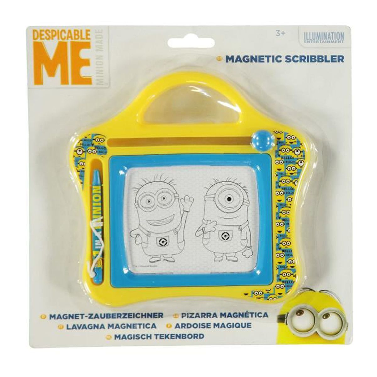 moi moche et mechant minions ardoise magique tableau dessin magnetique enfant achat vente. Black Bedroom Furniture Sets. Home Design Ideas