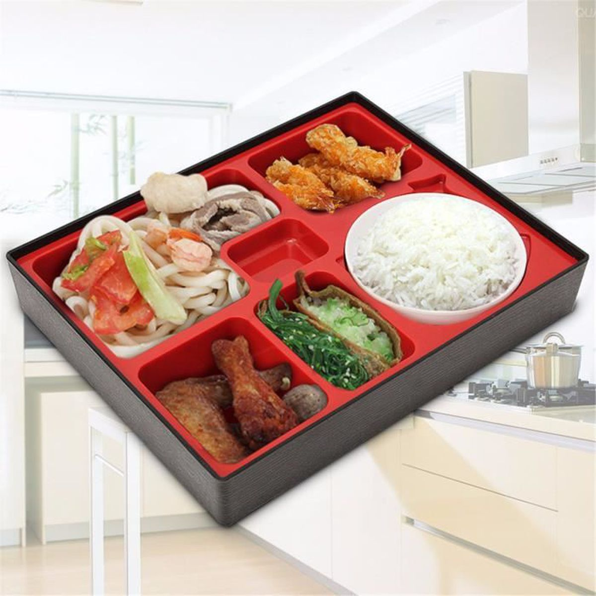 bento box bo te repas dejeuner lunch japonaise sushi. Black Bedroom Furniture Sets. Home Design Ideas
