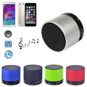 HAUT-PARLEUR - MICRO Bluetooth Métal HiFi Mains Libres Micro Haut-Parle