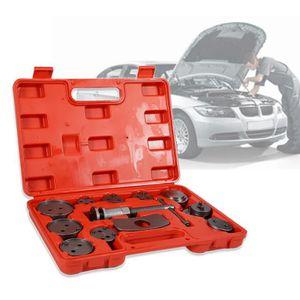 Mat/ériau: Acier C45 Todeco 21 pi/èces avec une mallette rouge Taille de la valise: 31 x 21,5 x 6 cm Set dOutils pour /Étrier de Frein Kit de R/éparation pour Repousse Piston