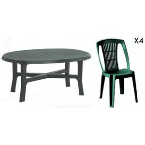 chaise de jardin verte plastique achat vente chaise de jardin verte plastique pas cher. Black Bedroom Furniture Sets. Home Design Ideas