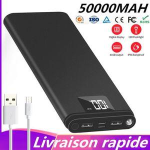 BATTERIE EXTERNE DIRUNOU®50000mAh Batterie Externe Chargeur Portabl