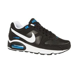 BASKET Baskets Nike Air Max Command GS Noir et Bleu. 4077