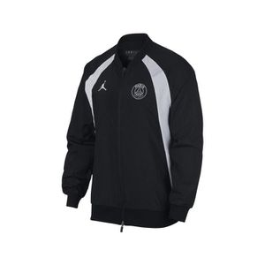 wholesale dealer c68fc 5785d TENUE DE FOOTBALL Veste Jordan X Psg Aj 1 Noir-Blanc