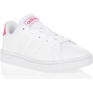 BASKET ADIDAS Baskets Advantage K - Enfant fille - Blanc