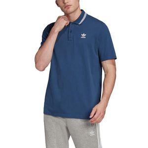 polo adidas homme manche courte