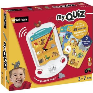 CONSOLE ÉDUCATIVE NATHAN My Quiz