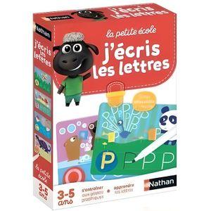 JEU D'APPRENTISSAGE NATHAN La Petite Ecole - J'écris les Lettres
