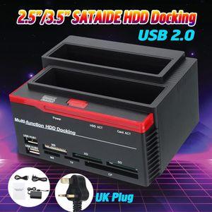 CÂBLE E-SATA T4W External Dual SATA IDE HDD Hard Drive Docking